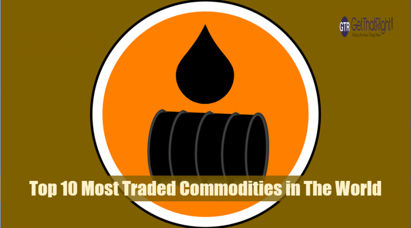 10 Most Traded Commodities in The World